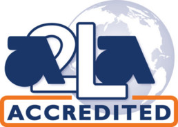 Logo A2LA Accrediation